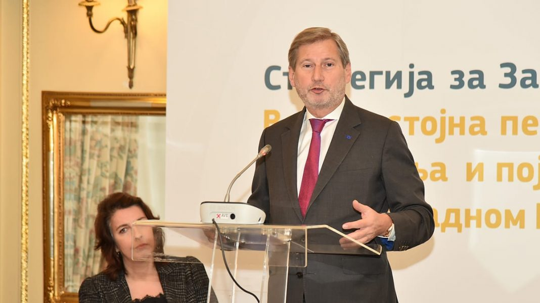Johannes Hahn: WB Strategy Opens The Road To EU Accession