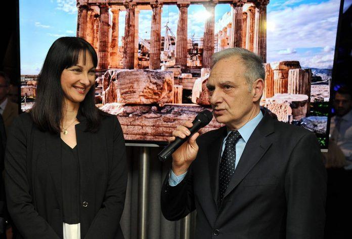 Greek Tourism Minister Elena Kountoura Visits Belgrade Elias Eliadis