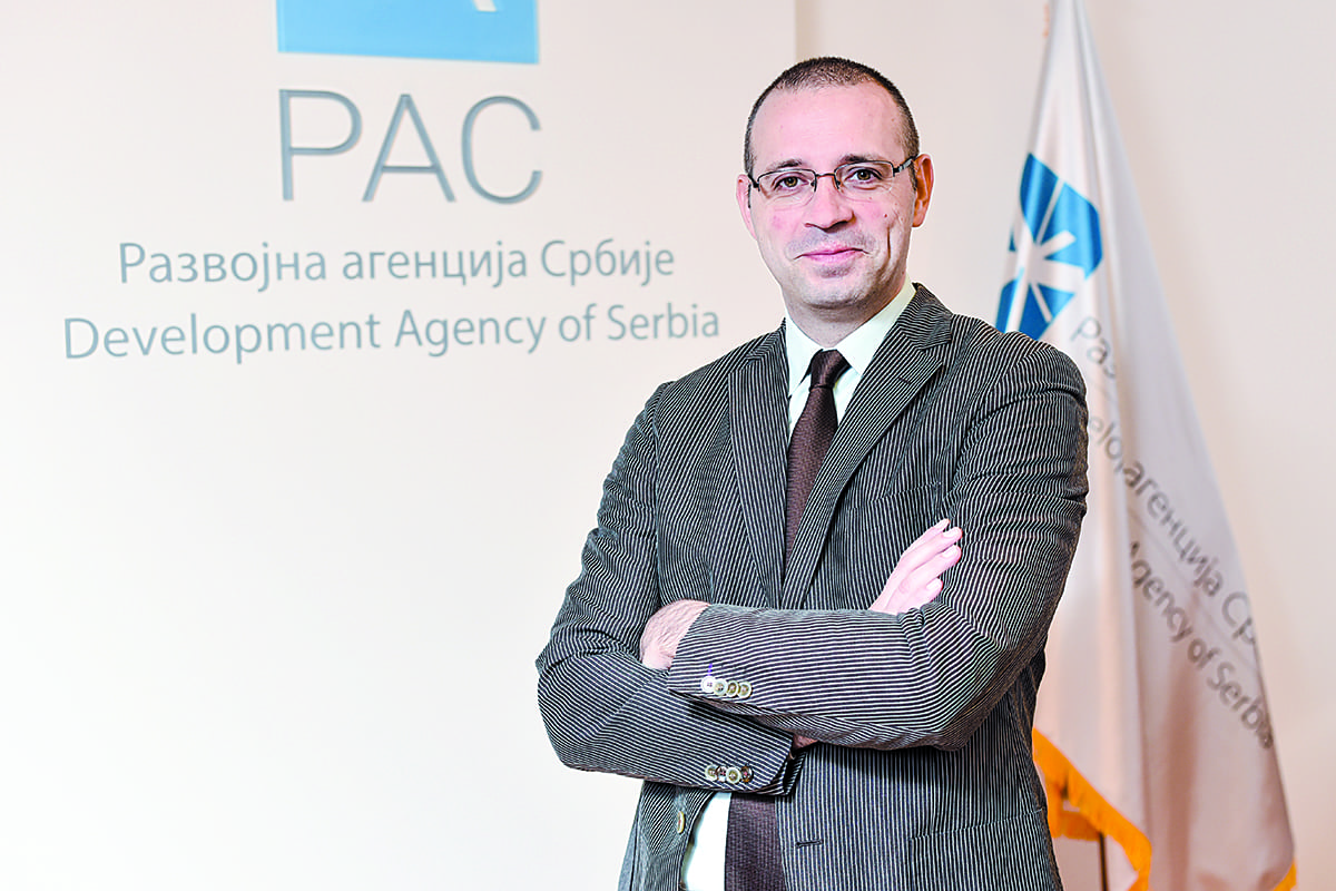 Radoš Gazdić, Acting Director Of The Development Agency Of Serbia (RAS)