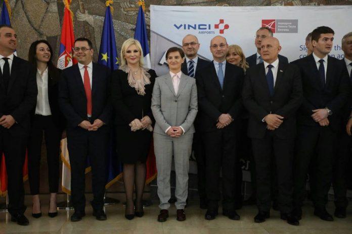 Vinci Signs Belgrade Nikola Tesla Airport Concession