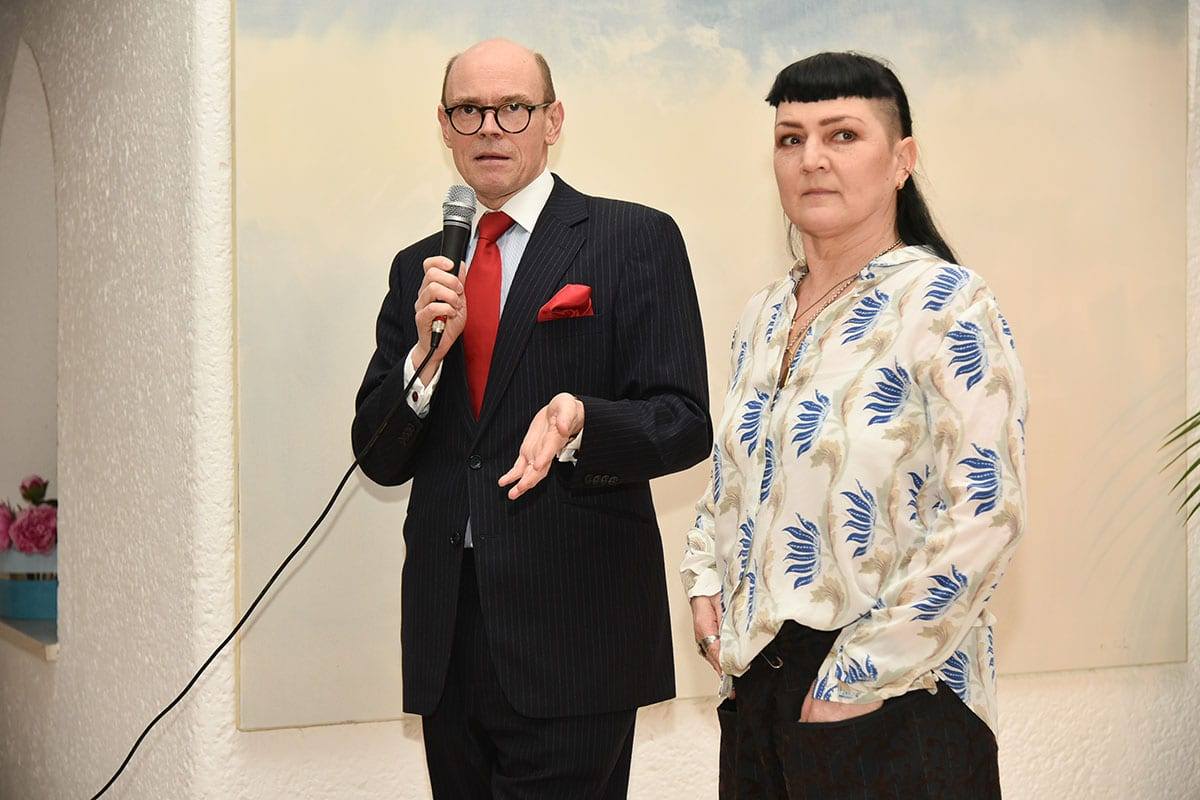 Norwegian Embassy Welcomes Zero Visibility Corp Ambassador Arne Sannes Bjørnstad