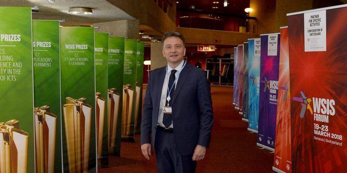 IT and e-Gov't Office Wins Prestigious World Award Mihailo Jovanovic