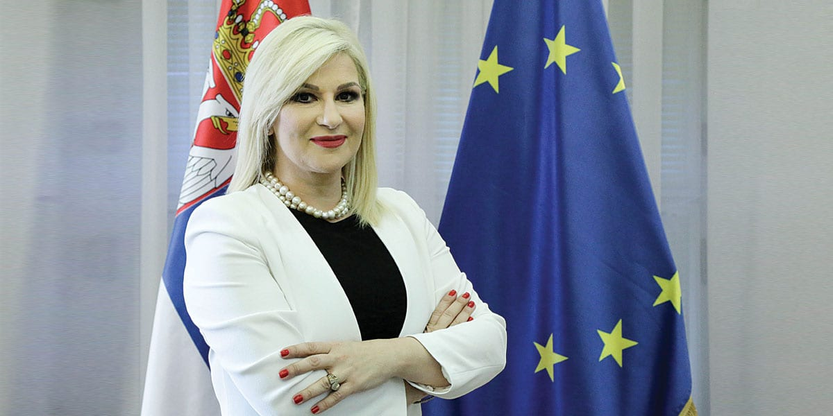 Zorana Mihajlović Deputy Prime Minister And Minister Of Construction Transport And Infrastructure