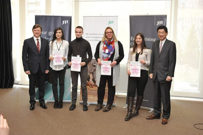 Sakura Scholarships Awarded Junichi Maruyama