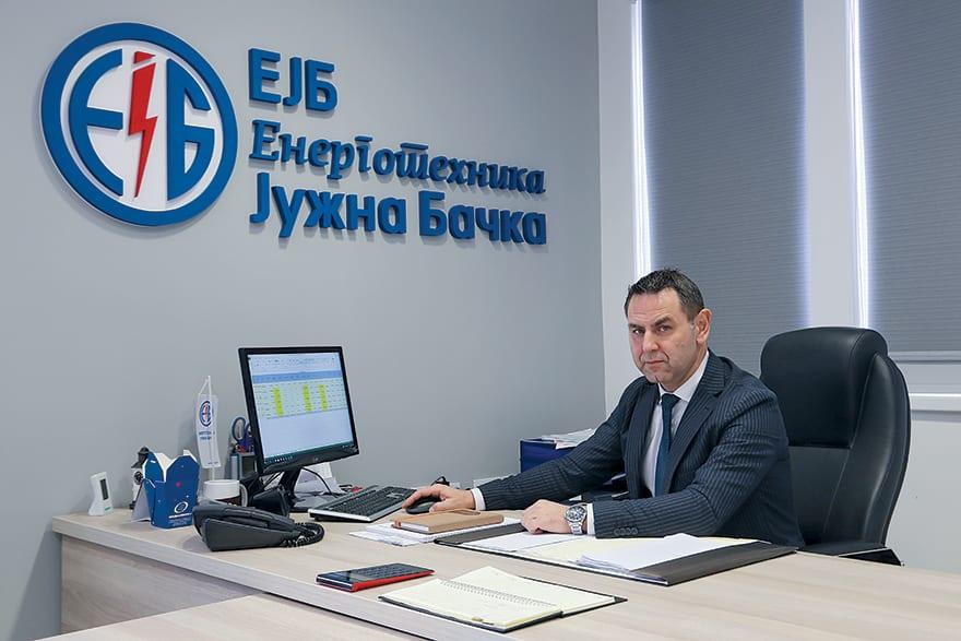 Ilija Labus, Director Of Energotehnika-Južna Bačka
