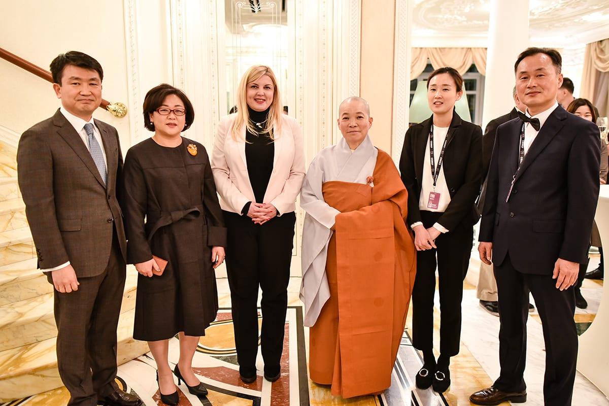 Korean Embassy Hosts Film Crew 2018
