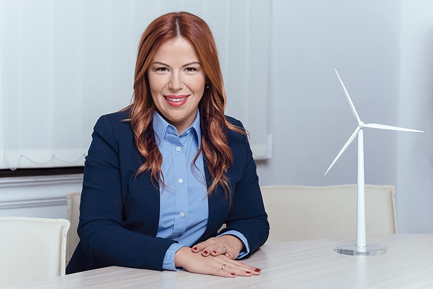 Neda Lazendić, Country Manager, Windvision Serbia