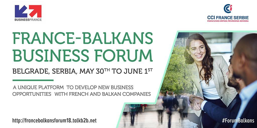 France Balkans 2018 Business Forum