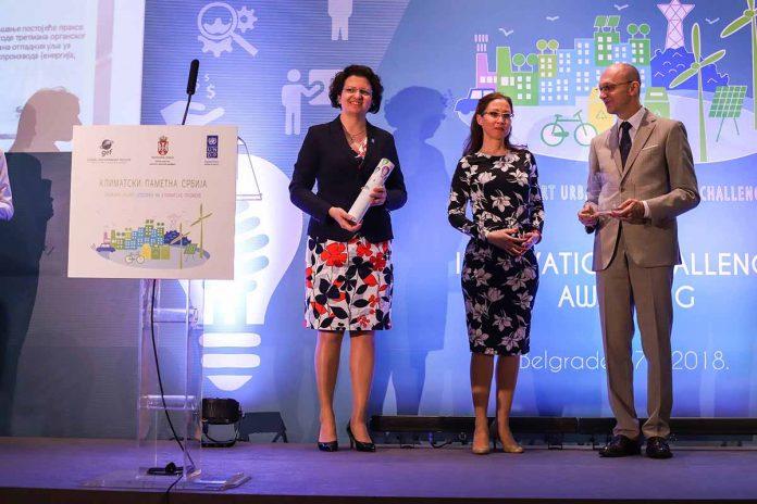 Climate-smart Innovative Ideas Awarded UNDP Trivan Steliana Nedera