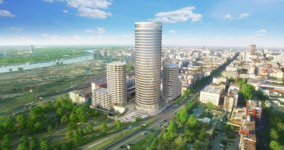 Skyline Belgrade Sales House