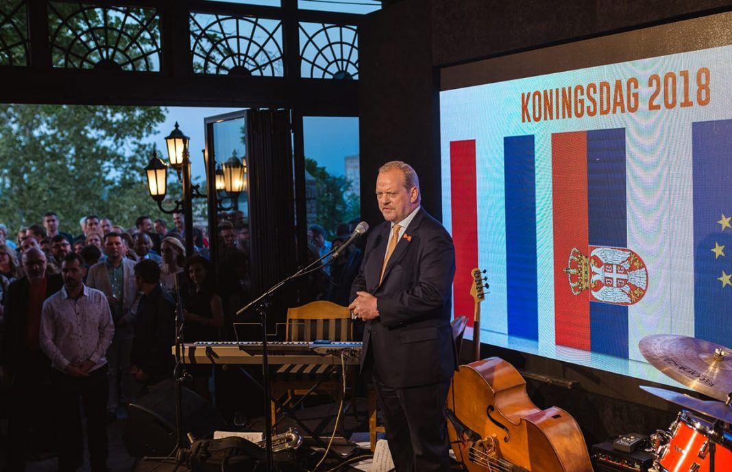 King's Day Celebrated In Belgrade Ambassador Henk van den Dool