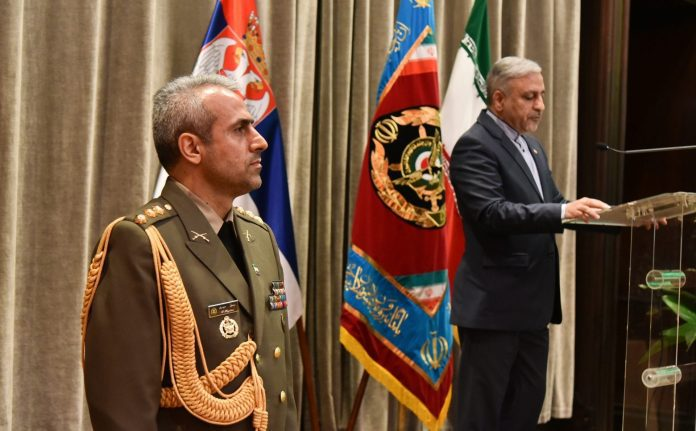 Embassy Of Iran Marks Army Day Hossein Molla Abdolahi