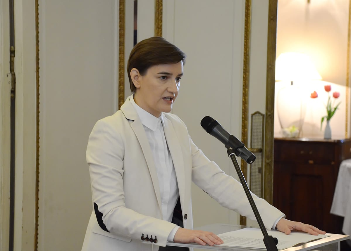 Conference Education in Serbia - Jobs for the Future Ana Brnabic