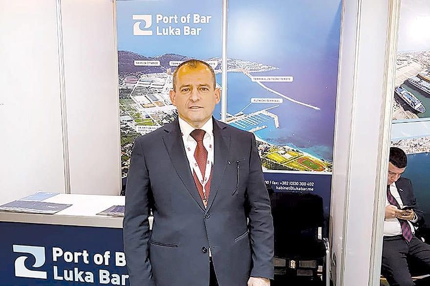 Zarija Franović, Executive Director, Port of Bar