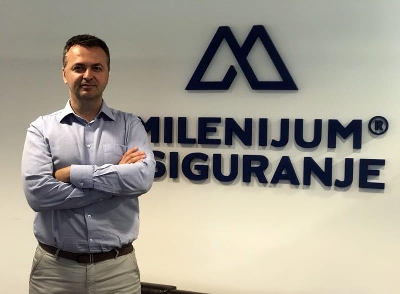 Darko Lazarević, Milenijum Osiguranje