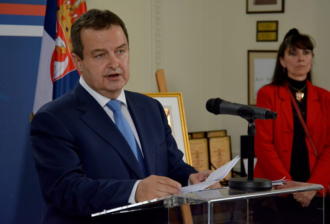 Serbian Diplomacy Day Marked Ivica Dacic