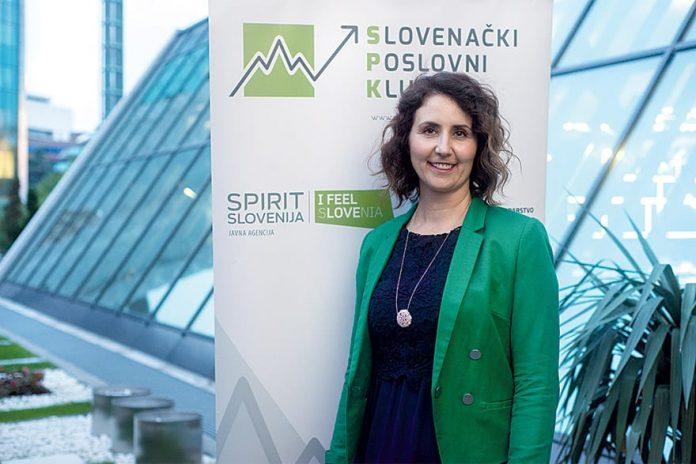Danijela Fišakov President Slovenian Business Club