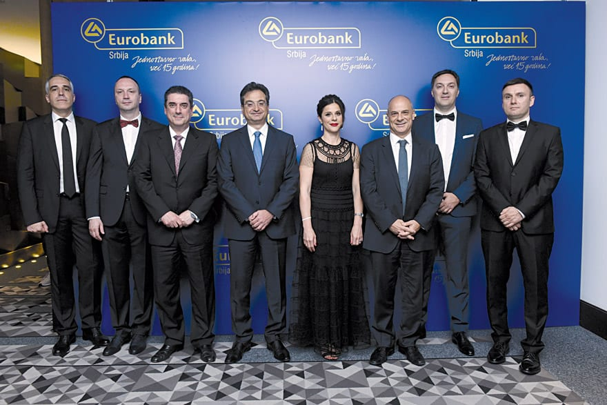 Eurobank 15 Years At Its Clients' Service