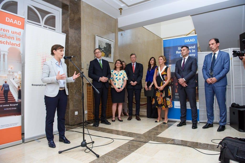 Grants Awarded By Dr Zoran Đinđić Foundation Axel Dittmann Ana Brnabic