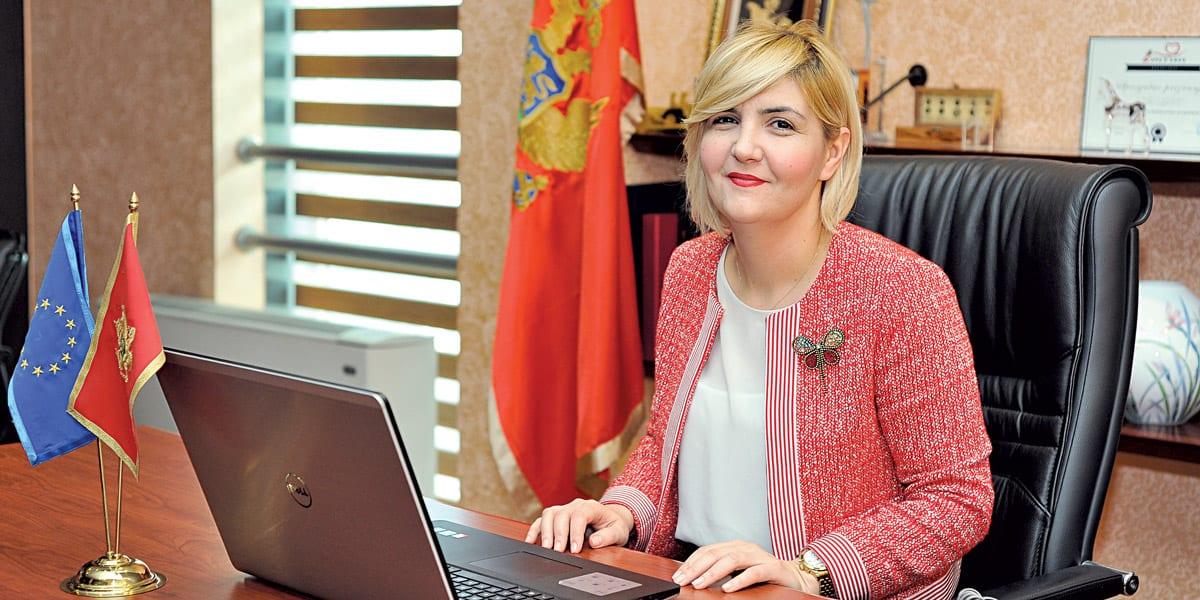 Dragica Sekulić, Montenegrin Economy Minister