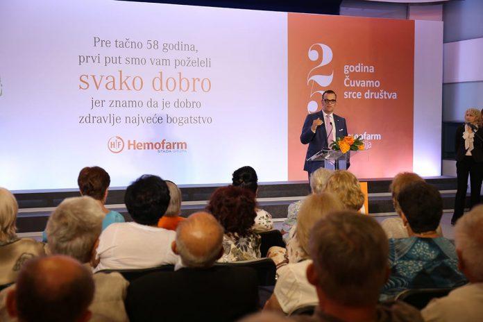 Hemofarm Marked 58th Anniversary Seeliger