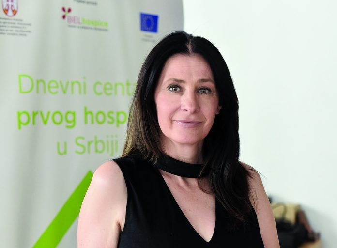 Vera Madzgalj, Chief Executive Officer at BELhospice