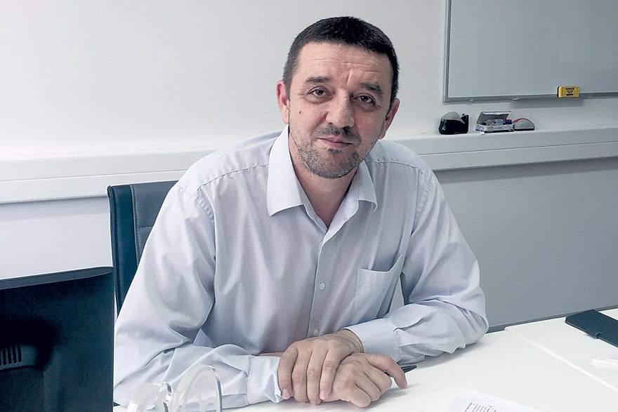Branko Stevanović, Plant Manager MODINE, Commercial and Industrial Solutions