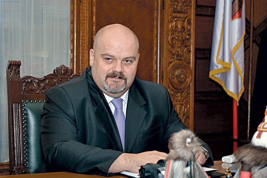 Čedomir Janjić Mayor Of Zrenjanin
