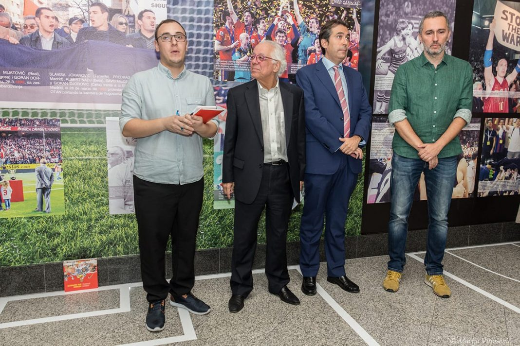 """""""Sports Heroes"""" Exhibition Opened At The Instituto Cervantes"""