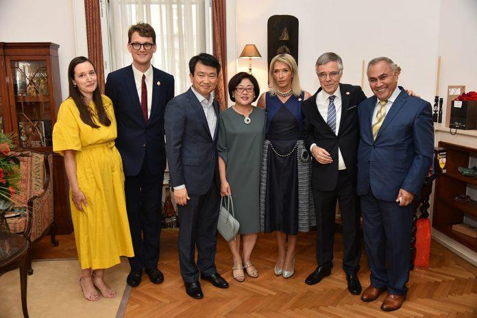 Belgian National Day Celebrated In Belgrade