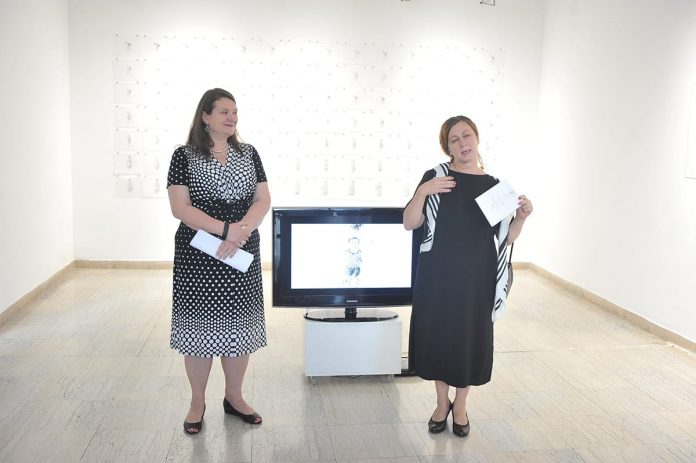 Exhibition Of Canadian Artist Opened In Kolarac Gallery Kati Czaba