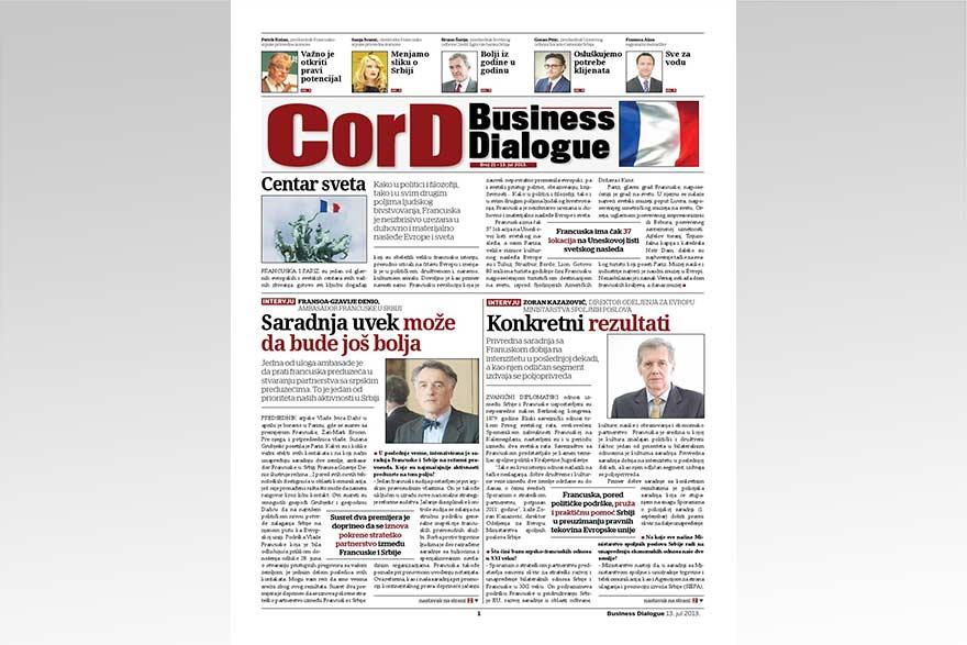 France Business Dialogue 2013