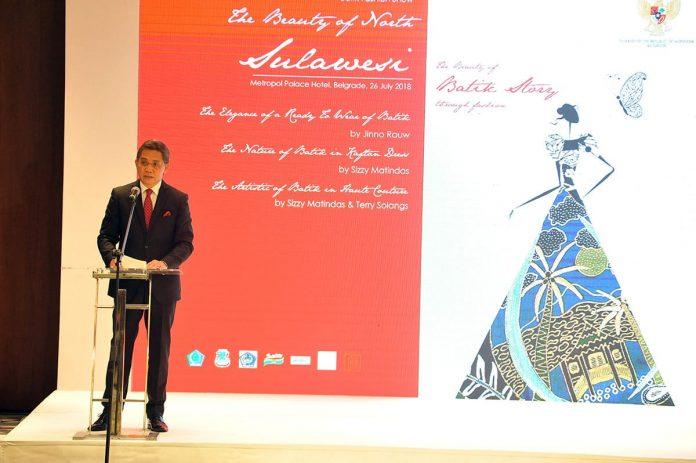 Embassy of Indonesia Host Batik Fashion Show Harry Kandou