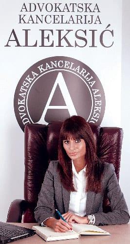 Ivana Maraš, Solicitor, Aleksić & Associates