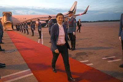 Ana Brnabić, Prime Minister of the Republic of Serbia