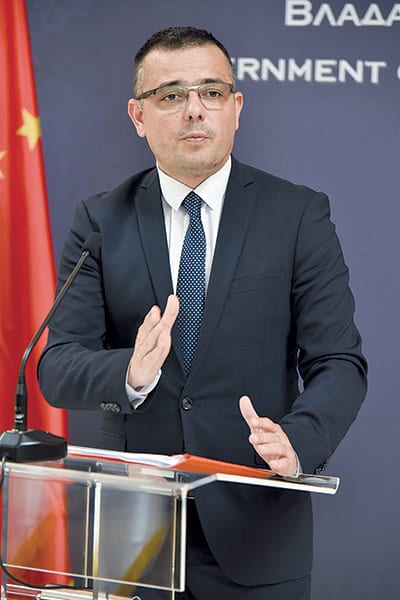 Branislav Nedimovic, Serbian Minister of Agriculture, Forestry And Water Management