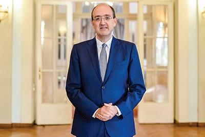 Carlo Lo Cascio, Italian Ambassador To Serbia