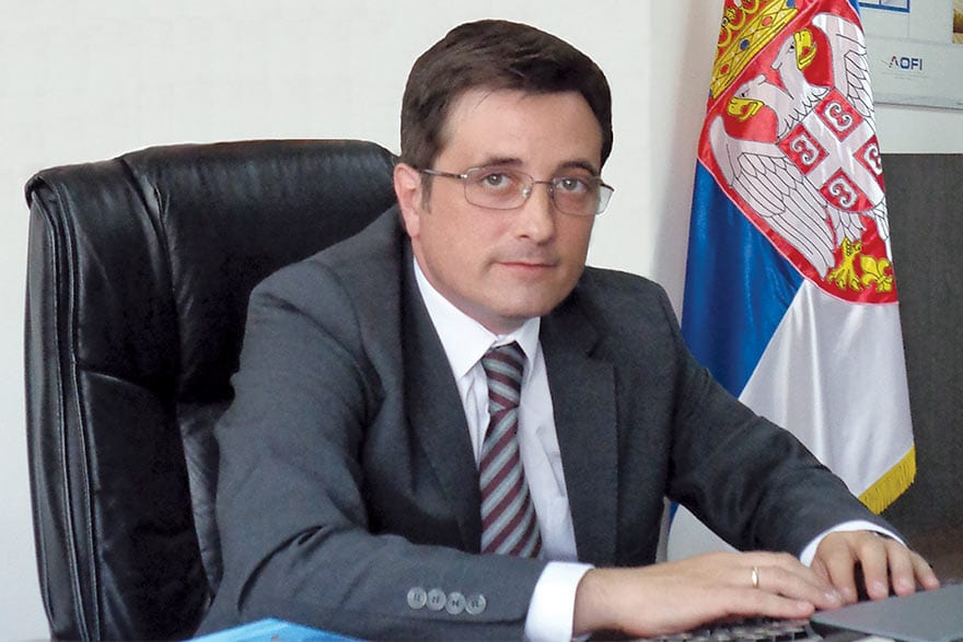 Dejan Vukotić, Director of the Serbian Export Credit and Insurance Agency, AOFI