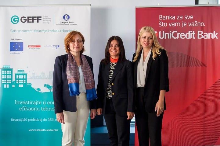 EBRD and UniCredit Boost Energy Efficiency in Serbia Zsuzsanna Hargitai Feza Tan