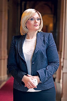 Jorgovanka Tabaković, Governor of The National Bank Of Serbia