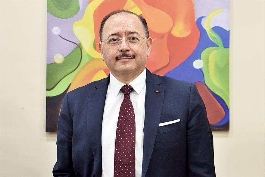 Marco Antonio García Blanco Ambassador of Mexico