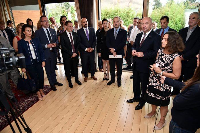 Israeli Business Community Meeting Ambassador of Israel Alona Fisher-Kamm