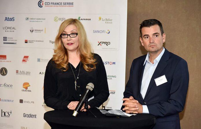 French-Serbian Chamber of Commerce Members Meeting Sanja Ivanic