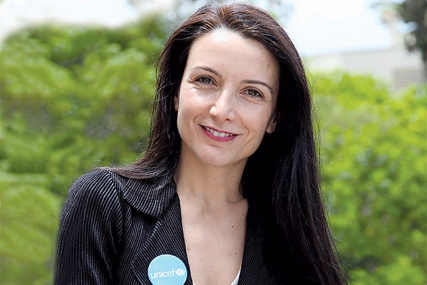 Regina De Dominicis New Unicef Representative in Serbia