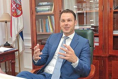 Siniša Mali, Serbian Minister of Finance