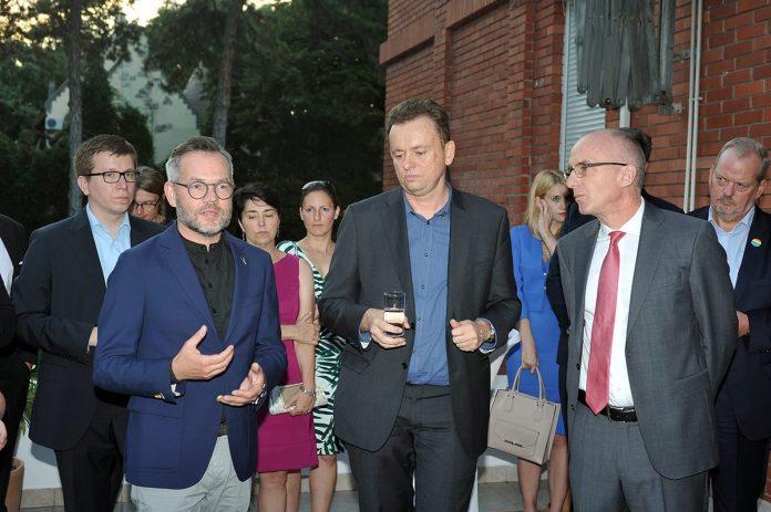 Ambassador Schieb Hosts LGBT Pride Reception