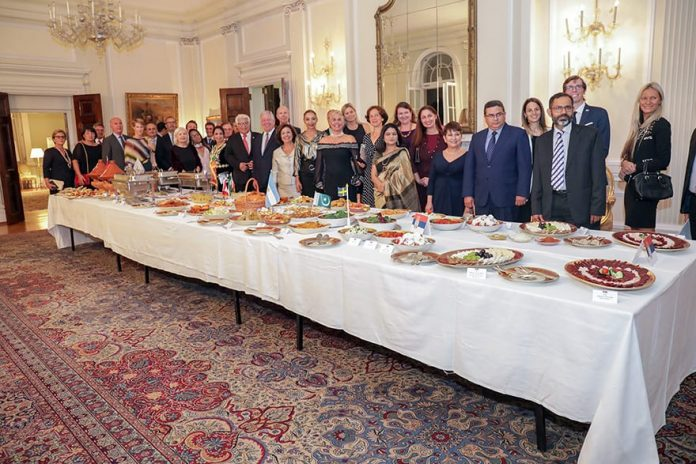 International Cuisine Dinner at the White Palace