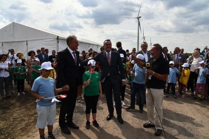 Alibunar Wind Farm Opened 2018