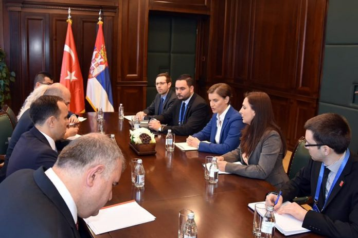 Development of Cooperation with Turkey Ana Brnabic Tanju Bilgiç