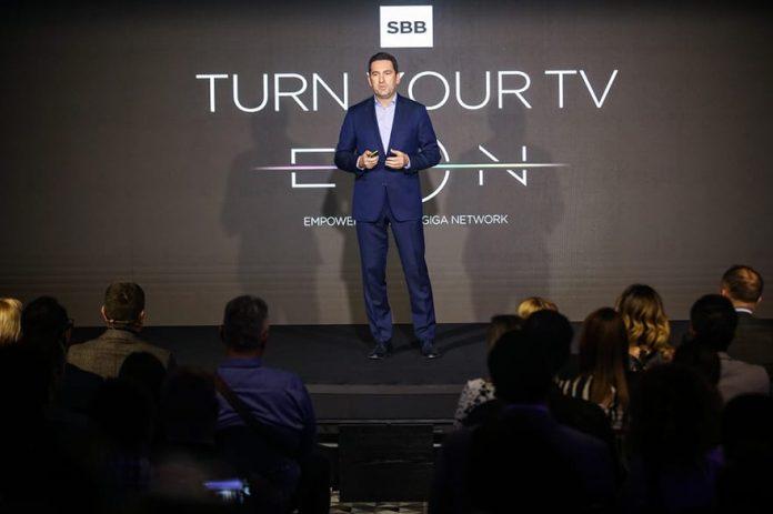 SBB presents EON smart boxing - a new era of television